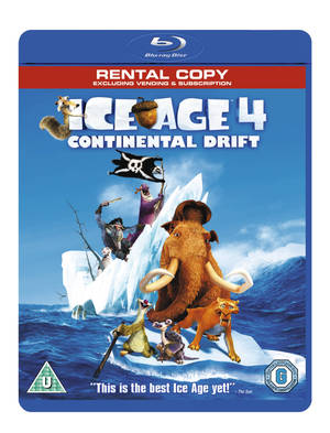 Ice Age 4 - Continental Drift (2012) (Blu-ray) (Rental)