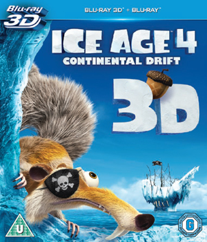 Ice Age 4 - Continental Drift (2012) (Blu-ray) (3D Edition) (Retail Only)