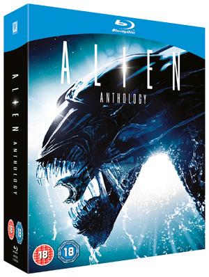 Alien Quadrilogy (1997) (Blu-ray) (Box Set) (Retail Only)