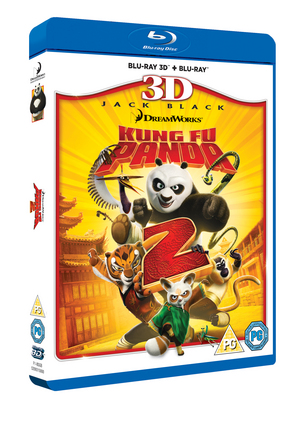 Kung Fu Panda 2 (2011) (Blu-ray) (3D Edition with 2D Edition) (Retail / Rental)