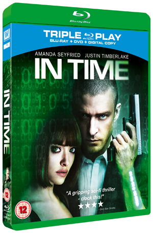 In Time (2011) (Blu-ray) (+ DVD and Digital Copy - Triple Play) (Retail Only)