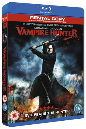 Abraham Lincoln - Vampire Hunter (2012) (Blu-ray) (Rental)