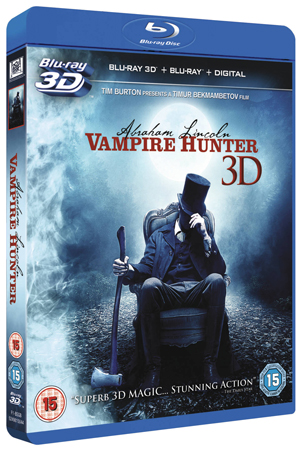 Abraham Lincoln - Vampire Hunter (2012) (Blu-ray) (3D Edition + 2D Edition + Digital Copy - Triple Play) (Retail Only)
