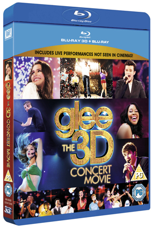 Glee: The Concert Movie (2011) (Blu-ray) (3D Edition with 2D Edition) (Retail Only)