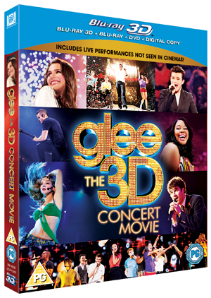 Glee: The Concert Movie (2011) (Blu-ray) (3D Edition + 2D Edition + DVD + Digital Copy) (Deleted)