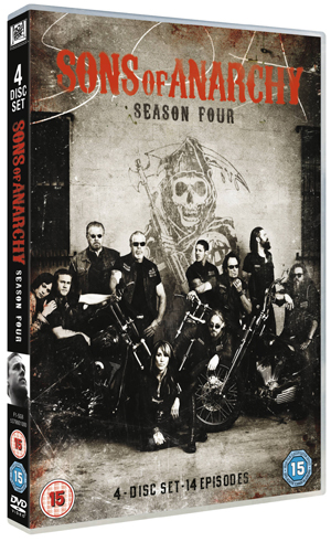 Sons of Anarchy: Complete Season 4 (2011) (Retail / Rental)