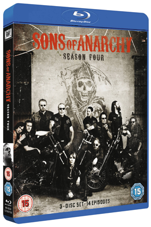 Sons of Anarchy: Complete Season 4 (2011) (Blu-ray) (Retail / Rental)