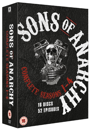 Sons of Anarchy: Complete Seasons 1-4 (2011) (Box Set) (Retail Only)