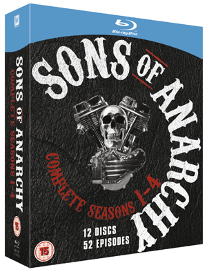 Sons of Anarchy: Complete Seasons 1-4 (2011) (Blu-ray) (Retail Only)