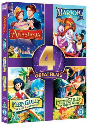 Anastasia/Bartok the Magnificent/Ferngully/Ferngully 2 (1999) (Box Set) (Retail Only)