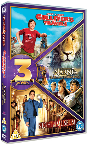 Gulliver's Travels/The Chronicles of Narnia: The Voyage of the... (2010) (Retail Only)
