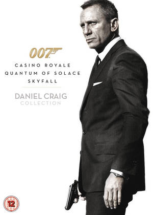 Casino Royale/Quantum of Solace/Skyfall (2012) (Slipcase) (Retail Only)