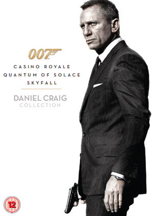 Casino Royale/Quantum of Solace/Skyfall (2012) (Retail Only)