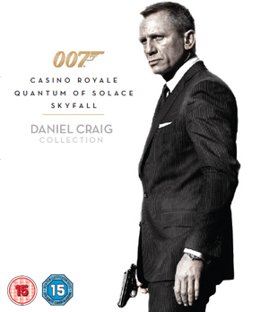 Casino Royale/Quantum of Solace/Skyfall (2012) (Blu-ray) (Box Set) (Retail Only)
