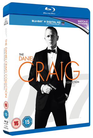 Casino Royale/Quantum of Solace/Skyfall (2012) (Blu-ray) (with Digital HD UltraViolet Copy) (Retail Only)