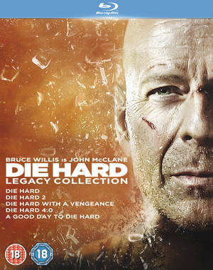 Die Hard: 1-5 Legacy Collection (2013) (Blu-ray) (Box Set) (Retail Only)