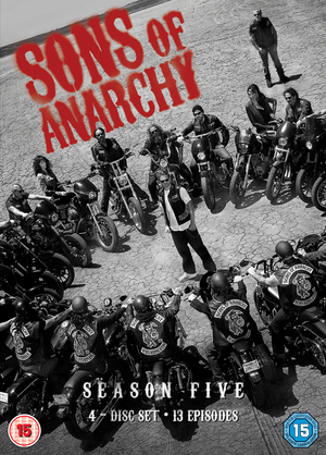 Sons of Anarchy: Complete Season 5 (2012) (Retail / Rental)
