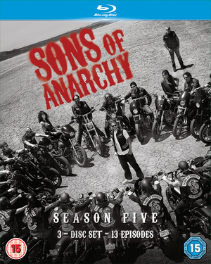 Sons of Anarchy: Complete Season 5 (2012) (Blu-ray) (Retail / Rental)
