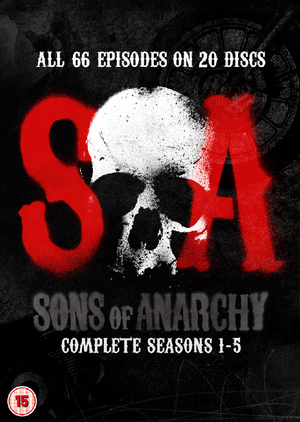 Sons of Anarchy: Complete Seasons 1-5 (2012) (Box Set) (Deleted)