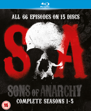 Sons of Anarchy: Complete Seasons 1-5 (2012) (Blu-ray) (Box Set) (Retail Only)