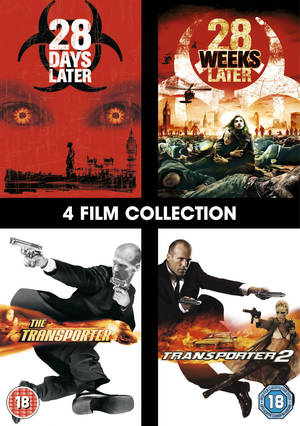 28 Days Later/28 Weeks Later/The Transporter/The Transporter 2 (2007) (Box Set) (Retail Only)
