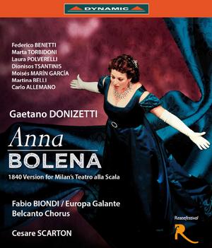 Anna Bolena: Teatro Flavio Vespasiano (Biondi) (2013) (Blu-ray) (Retail / Rental)