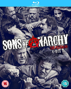Sons of Anarchy: Complete Season 6 (2013) (Blu-ray) (Retail / Rental)