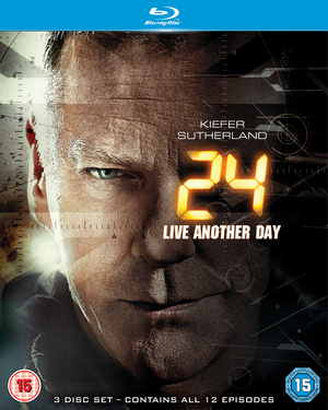 24: Live Another Day (2014) (Blu-ray) (Retail / Rental)