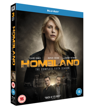 Homeland: The Complete Fifth Season (2015) (Blu-ray) (Retail / Rental)