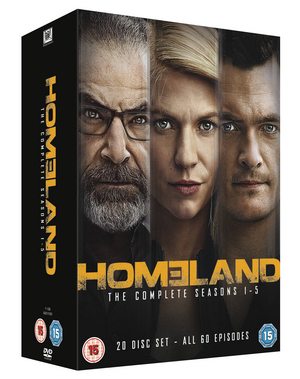 Homeland: The Complete Seasons 1-5 (2015) (Box Set) (Retail / Rental)