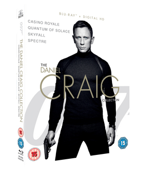 The Daniel Craig Collection (2015) (Blu-ray) (Box Set) (Retail Only)