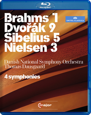 Four Symphonies: Danish National Symphony Orchestra (Dausgaard) (2011) (Blu-ray) (Retail / Rental)