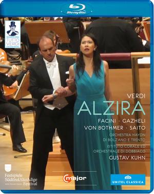 Alzira: Alto Adige Festival (Kuhn) (2012) (Blu-ray) (Retail / Rental)