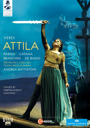 Attila: Teatro Regio di Parma (Battistoni) (2010) (NTSC Version) (Retail / Rental)