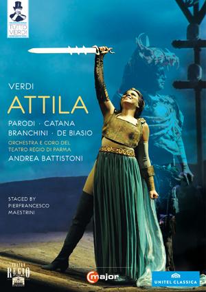 Attila: Teatro Regio di Parma (Battistoni) (2010) (Blu-ray) (Retail / Rental)
