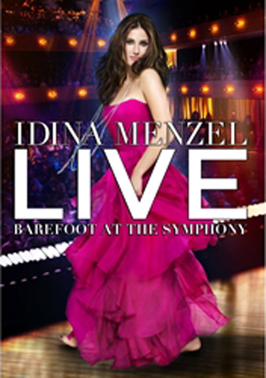 Idina Menzel: Live - Barefoot at the Symphony (2011) (Retail / Rental)