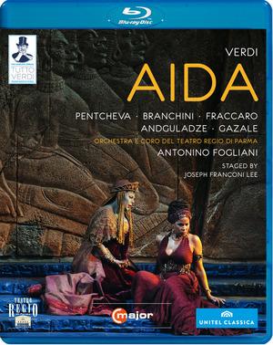 Aida: Teatro Regio Di Parma (Fogliani) (2012) (Blu-ray) (Retail / Rental)