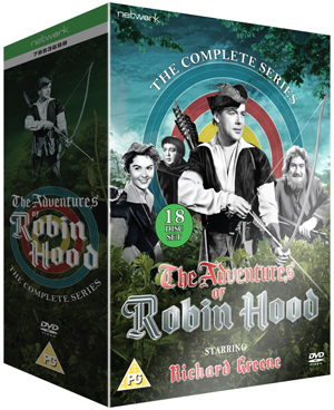The Adventures of Robin Hood: The Complete Series (1956) (Retail Only)