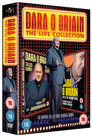 Dara O'Briain: The Live Collection (2008) (With CD) (Retail Only)