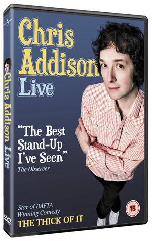Chris Addison: Live (2010) (Retail / Rental)