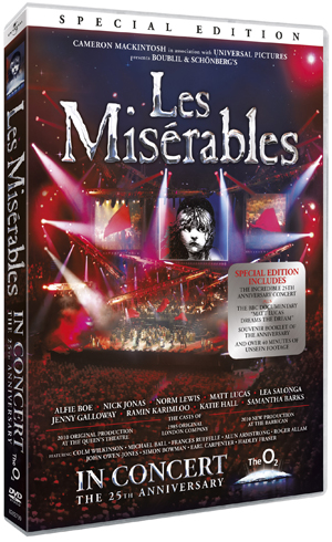 Les Misérables: In Concert - 25th Anniversary Show (2010) (Special Edition) (Retail / Rental)