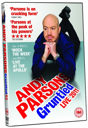 Andy Parsons: Gruntled Live 2011 (2011) (Retail / Rental)