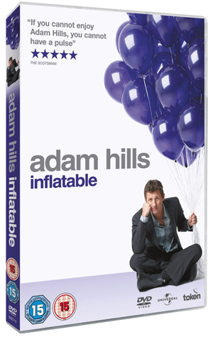 Adam Hills: Inflatable (2009) (Retail / Rental)