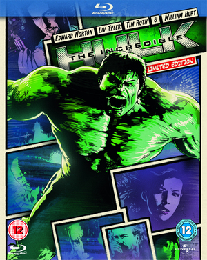 The Incredible Hulk (2008) (Blu-ray) (Retail Only)