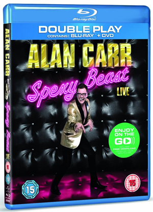 Alan Carr: Spexy Beast (2011) (Blu-ray) (with DVD - Double Play) (Retail / Rental)