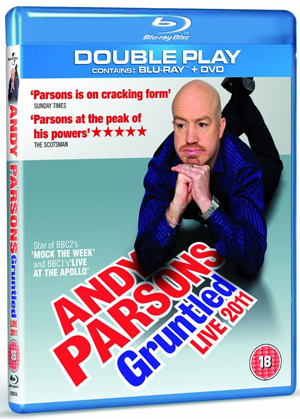 Andy Parsons: Gruntled Live 2011 (2011) (Blu-ray) (with DVD - Double Play) (Retail / Rental)