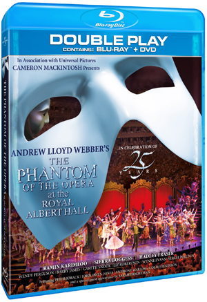 The Phantom of the Opera at the Albert Hall - 25th Anniversary (2011) (Blu-ray) (with DVD - Double Play) (Retail / Rental)