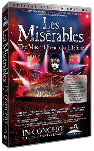 Les Misérables: In Concert - 25th Anniversary Show (2010) (Limited Edition) (Deleted)