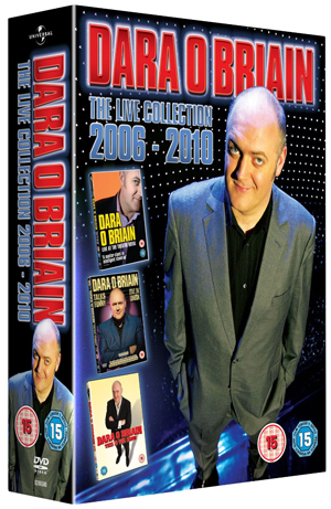 Dara O'Briain: Live Collection (2011) (Box Set) (Retail Only)