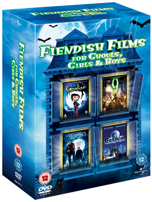 Fiendish Films for Ghouls, Girls and Boys (2009) (Box Set) (Retail / Rental)